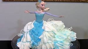How To Make A Frozen Elsa Cake Cake Decorating