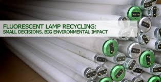 fluorescent light bulb disposal iron