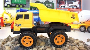 Dump Truck And Excavator | Dump Truck Kids | Learn Transport/Cars ...