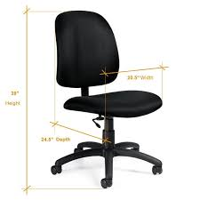 Amazon.com: Computer Desk Chair - Goal Low Back Armless Office ... Amazoncom Topeakmart Pu Leather Low Back Armless Desk Chair Ribbed Modway Ripple Mid Office In Black Trendy Tufted For Modern Home Fniture Ideas Computer Without Wheels Chairs Simple Mesh No White Desk Chair Uk With Lumbar Support 3988 Swivel Classic Adjustable Task Dirk Low Back Armless Office Chair Having Good Bbybark Decor Wheel