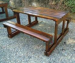 Build Wooden Garden Chair by Homemade Wooden Garden Benches Front Yard Landscaping Ideas
