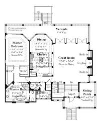 Chateau Floor Plans Home Plan Chateau Sur Mer Sater Design Collection