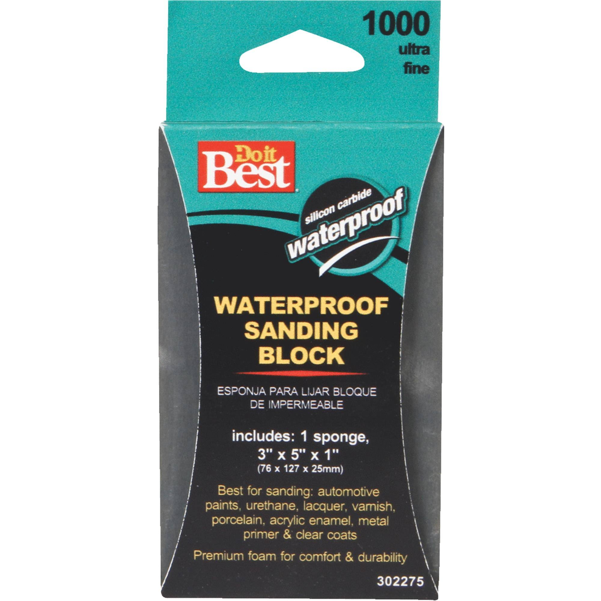 Do it Best 302275 Waterproof Sanding Sponge