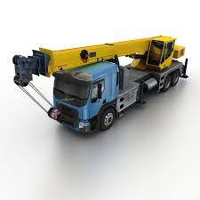 100 3d Tow Truck Games Volvo FE Crane 2013 3D Model 35 Obj Max Fbx Dae S Free3D