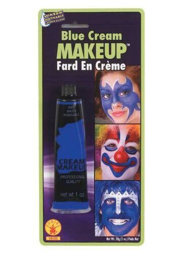 Century Novelty Halloween Costumes Makeup Cream Tube - Blue, 1oz
