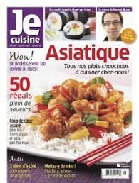 je cuisine je cuisine asiatique