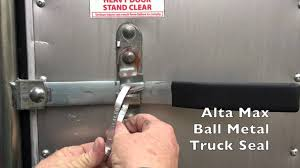 Ball Metal Truck Seal - Alta Max - YouTube 7x5mm U Channel Black Trim Lock Rubber Edge Pillar Seal Protector Tensor Alum Quality Reg Skateboard Trucks Redwhite Container Door Truck Protective Lead Stock Photo Download Now Seals F18 In Wonderful Home Decoration Plan With Pin By Stevens Asphalt On Tar Chip Driveway Paving Vertical Run Window Vent Post For 6772 Blazer Mechanical Metal Security Cable Seal Rail Car Containers High Manufacturer Of Lock Truck Container Yellow Locked On Old Of After Work A Long Time Cambridge Offers Plastic Tips Proper Weather Installation Foldacover Tonneau Covers