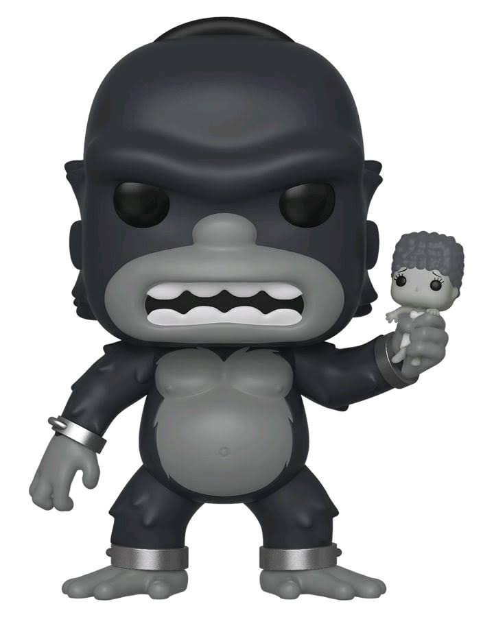 Funko Pop Simpsons Homer King Kong Vinyl Figure