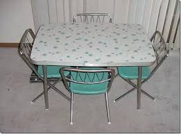 Formica Table And Chairs For Sale Vintage Kitchen Set W 4 Star Folding