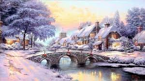 Thomas Kinkade Christmas Tree Village by Thomas Kinkade Christmas Wallpapers U2013 Happy Holidays
