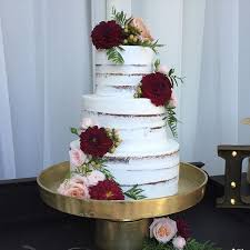 Dying Over This Crumb Coat Naked Cake From Yesterdays Wedding With And The Rich Color Mixed Light Give Rustic An Elegant Feel