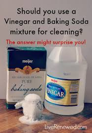 is a vinegar and baking soda mixture effective for cleaning