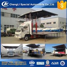 100 Truck Brand Cn Foton Wing Open With Stage 4mx6m 24m3 Lhd Rhd Mobile Stage Van Opening Vehicle With Led Screen Innovation Design Buy Wing Open