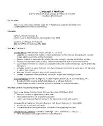 Pe Teacher Resume Bilingual Sample Receptionist