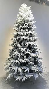 Half Christmas Tree Prelit The Lit Snowy Alpine Warm White To 9 With Regard