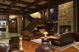 Interior Design Rustic Enchanting Ideas Living Room New