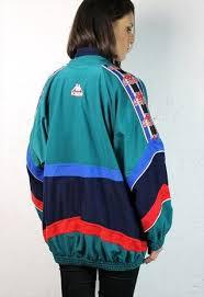 Kappa Vintage Crushed Velvet Track Jacket