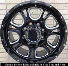 100 17 Truck Wheels 4 New For Dodge Ram 2500 3500 Hummer H2 Rims