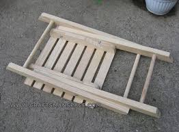 Free Wood Folding Table Plans by Folding Stool Plan