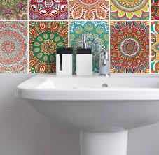 fliesenaufkleber für küche und badezimmer mandala