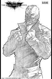 Batman Dark Knight Rises Coloring Pages And Bane