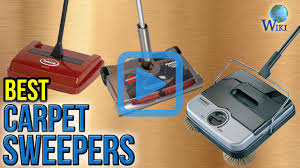 Electric Broom For Hardwood Floors by Top 9 Carpet Sweepers Of 2017 Video Review