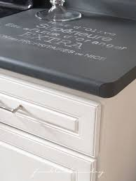 chalk paint counter top q&a and tour