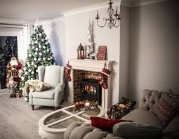 Primitive Decorating Ideas For Living Room by Wonderful Christmas Diy Makeover Room Decorating Ideas Home Tour