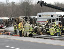 100 Tanker Truck Crash Truck Overturns On I95 Near Elkton Police And Fire News