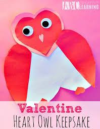 Valentine Heart Owl Keepsake