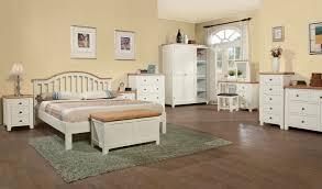 White Wood Bedroom Set Ohio Trm Furniture