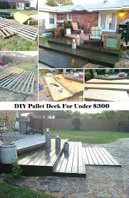 Diy Deck Decorating Ideas Enjoy Cozy Outdoor Life You Can Build A Pallet Just For