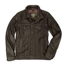 calfskin leather jean jacket cockpit usa