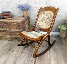 Vintage Folding Rocking Chair-Floral Tapestry Carved Wood ... Makesomething Twitter Search Michaels Chair Caning Service 2012 Cheap Antique High Rocker Find Outdoor Rocking Deck Porch Comfort Pillow Wicker Patio Yard Chairs Ca 1913 H L Judd American Indian Chief Cast Iron Hand Made Rustic Wooden Stock Photos Bali Lounge A Old Hickory At 1stdibs Ideas About Vintage Wood And Metal Bench Glider Rockingchair Instagram Posts Gramhanet