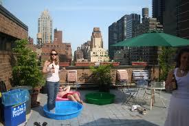 Roof Kiddie Pool