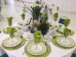 Table Decorations For Ladies Tea