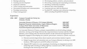 Resume Summary Examples Entry Level Professional For