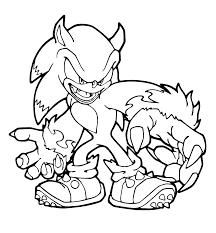 Disegni Da Colorare Sonic X Silver Sonic Para Pintar
