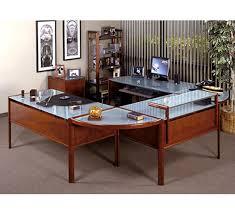Cozy Modern Wooden Style Office Decorating Ideas For Men Elegant In Nice White Home Desks