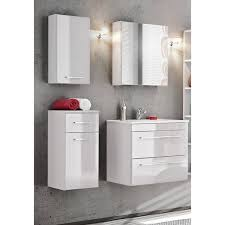 badezimmer hängeschrank wandschrank tivoli 56 hochglanz weiß b x h x t ca 30 x 55 x 15cm