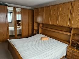 hülsta schlafzimmer in eiche mit spiegel und kommode top zustand