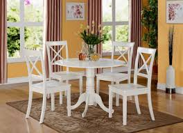 Round Dining Room Sets With Leaf by Table Kitchen Black Glass Table And Chairs Furniture Round Table