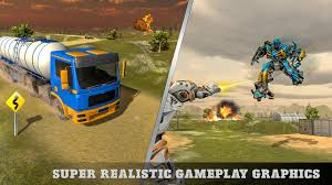 Oil Tanker Robot Transform Shooter - Android Games In TapTap ...