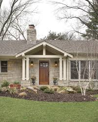 gable porch porch traditional with exposed beams traditional