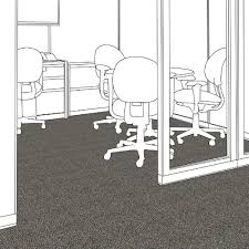 Milliken Carpet Tile Adhesive by Milliken Contract Carpet Tile