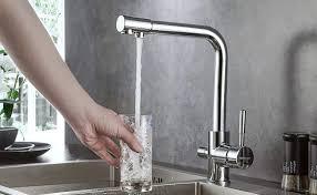 bonade 3 wege trinkwasserhahn küche 3 in 1 mischbatterie 360
