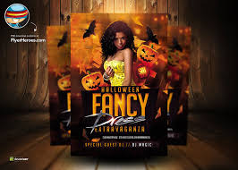 Free Halloween Flyer Templates by Halloween Fancy Dress Psd Flyer Template By Flyertemplates On