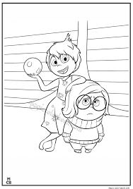 Inside Out Coloring Pages Free Printable 39