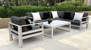 Modern Aluminum Patio Furniture Free Interior Designs From Contemporary Outdoor Source