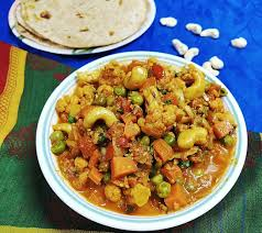 cauliflower carrot and peas masala tasty delightz